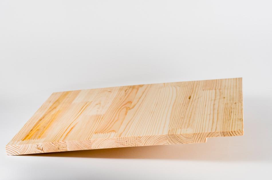 Pine wood window framing panels