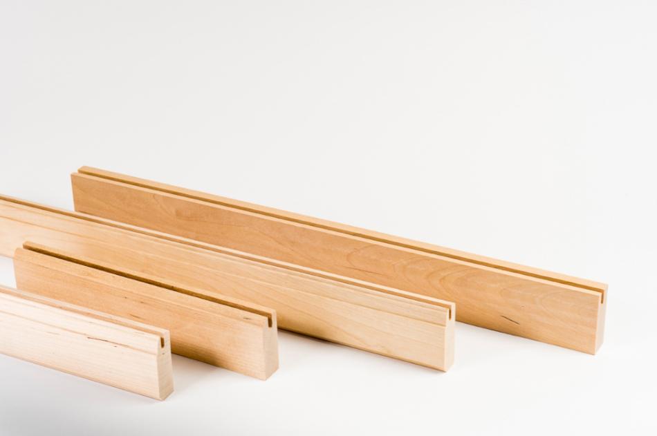 Profiled furniture workpieces
